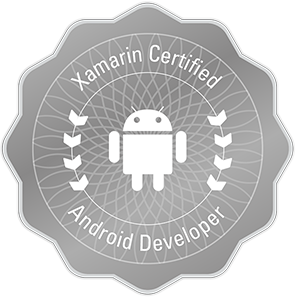 Xamarin Certified Android Developer